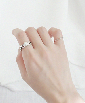 chain ring (silver)