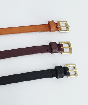 leather square belt